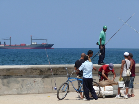 Kuba Havanna am Malecon