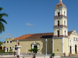 Kuba Kirche in Remedios