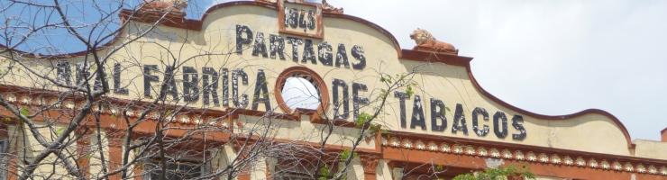Kuba Partagas Tabak-Fabrik in Havanna